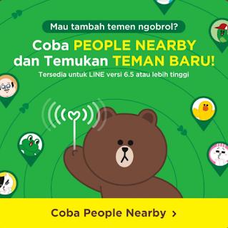 """LINE Rilis Fitur """"People Nearby"""" Untuk Mencari Teman Dengan Lokasi Terdekat"""