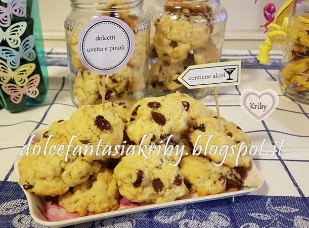 biscotti buffet decorazione