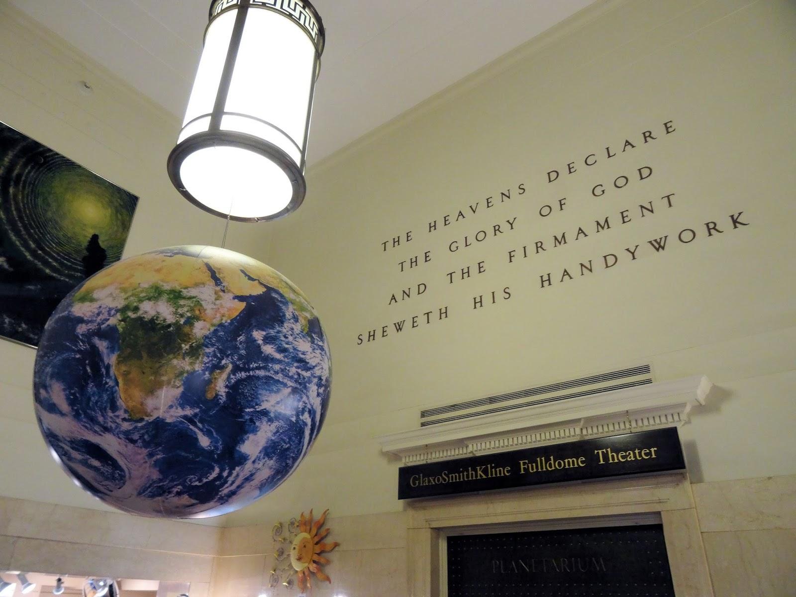 Femme au foyer: Morehead Planetarium & Science Center in