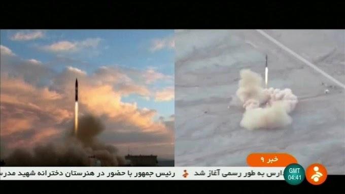 """""""CLIMA DE GUERRA MUNDIAL"""": Irã desafia EUA e testa novo míssil"""