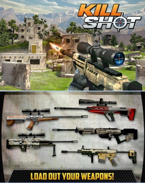 Download Game Android MOD Kill Shot MOD APK