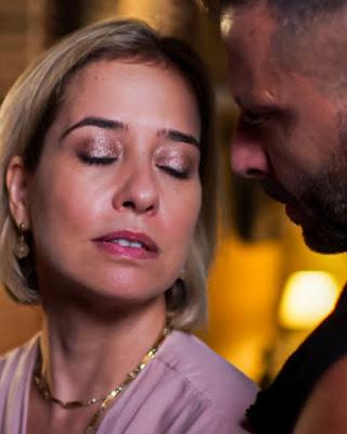 Madureira (Henri Castelli) afirma que está interessado em Lígia (Paloma Duarte), em 'Malhação - Toda Forma de Amar' — Foto: Globo