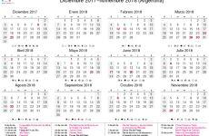 Calendario 2019 Con Feriados Y Dias Festivos Editable Para Imprimir