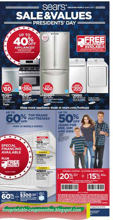 Sears coupon code april 2018