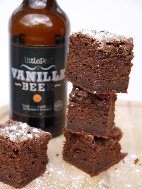 The Betty Stamp Vanilla Beer Brownies Recipe Little Pod