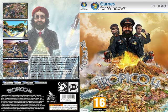 Capa Tropico 4 PC