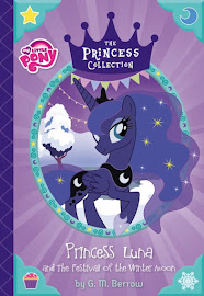 MLP Princess Luna and the Festival of the Winter Moon Book Media