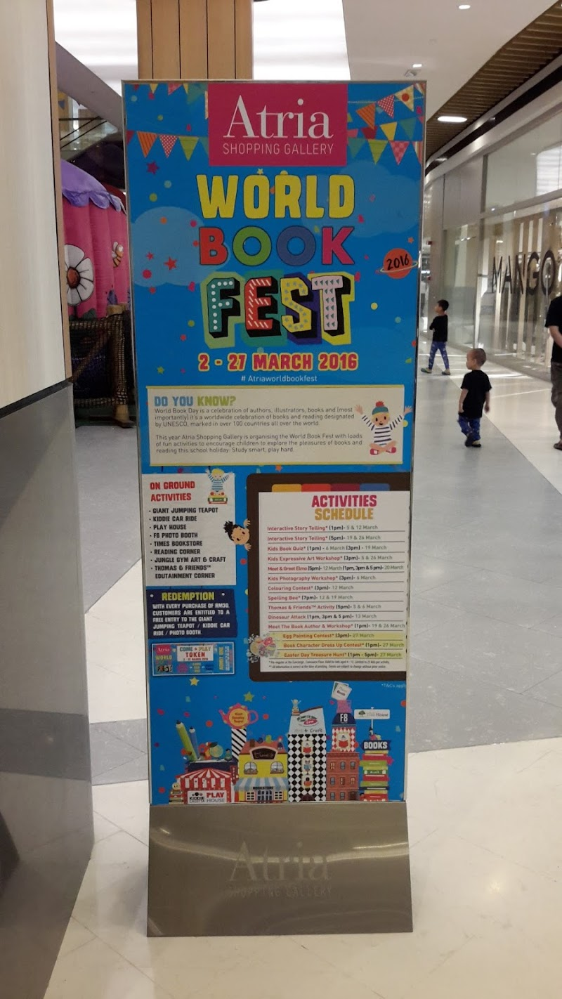 World Book Fest Di Atria Shopping Mall 2 - 27 Mac 2016