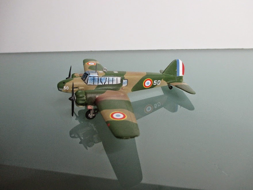 1/144 Avro Anson Mk.1 diecast aircraft