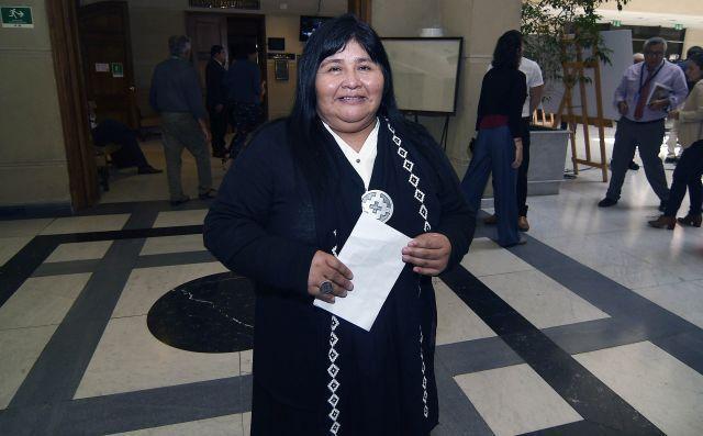 Diputada Mapuche Huilliche, Emilia Nuyado Ancapichún