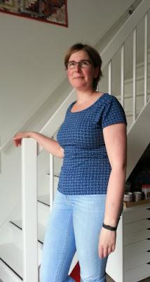 Basic shirt connections Megan Blue, voor mijzelf