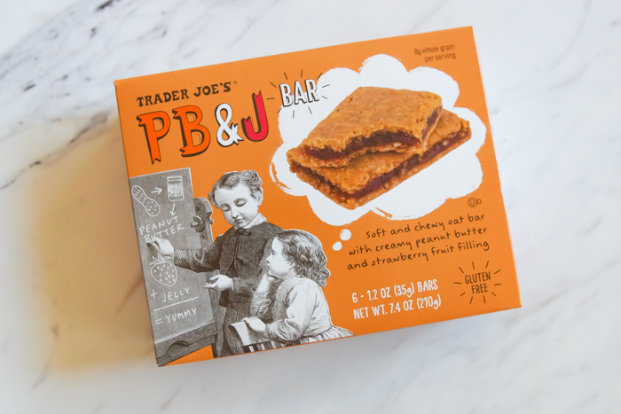 Trader Joe's PB & J Bars review