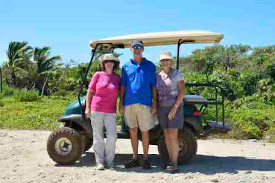 Photograph by golf buggy