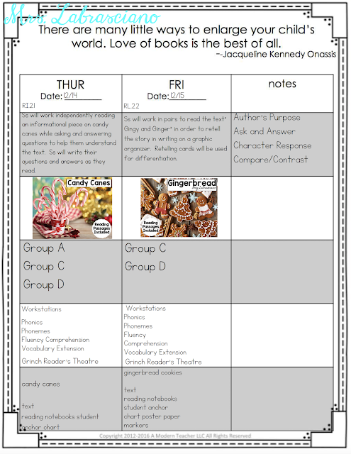 Click here to learn all about teaching ELA in the second  grade classroom.  These free and fun lesson outlines will detail curriculum and ideas for all informational, literature and writing standards in my 2nd grade elementary classroom.  This week's lessons will be all about: Candy Canes, Cookies, Fruitcake, Gingerbread, author' s purpose, author's point, timelines, retelling and writing paragraphs.  Your second grade students will love the lessons and activities shared here.  These lesson outlines are added and updated almost each week.