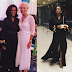 Genevieve Nnaji stuns in black as she attends dinner with IMF Boss, Christine Lagarde