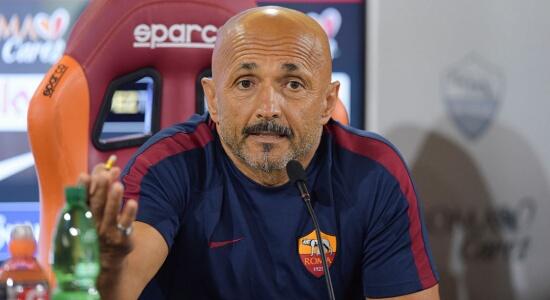 """Roma news, Spalletti:"""" Vogliamo arrivare fino in fondo a questa competizione"""". A cura di Carlo Sacchetti"""