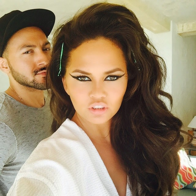 Chrissy Teigen goes back to brunette; shares pictures on Instagram