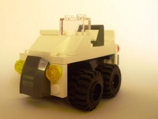 MOC LEGO Viatura todo-o-terreno