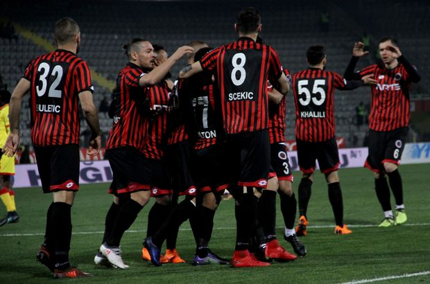 Ankara takımı 3 gollü show