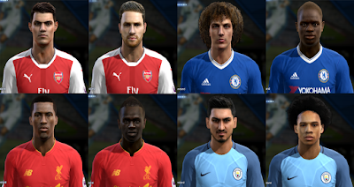 PES 2013 SMoKE Patch Blue 5.3 Update Season 2016/2017