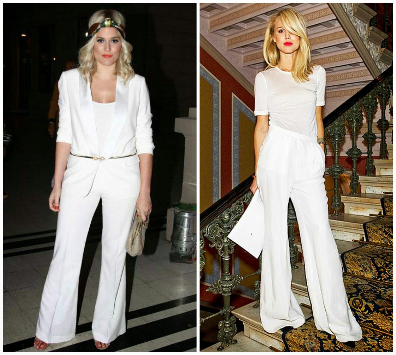 Total look white   Look de Blanco o Fiesta y todos de blanco ... c7ad88c4cd7
