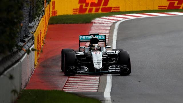 Hasil Kualifikasi GP F1 Canada 2016 : Hamilton Start 1, Rio Posisi 20
