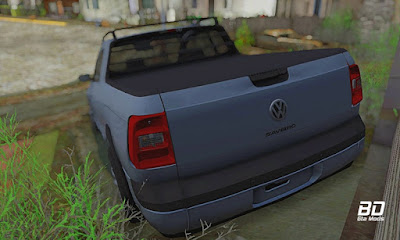 Download mod carro VW Saveiro G5 Trend para GTA San Andreas , GTA SA PC