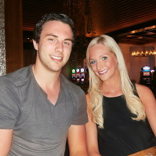 Brandon Dubinsky With Girlfriend Smiling