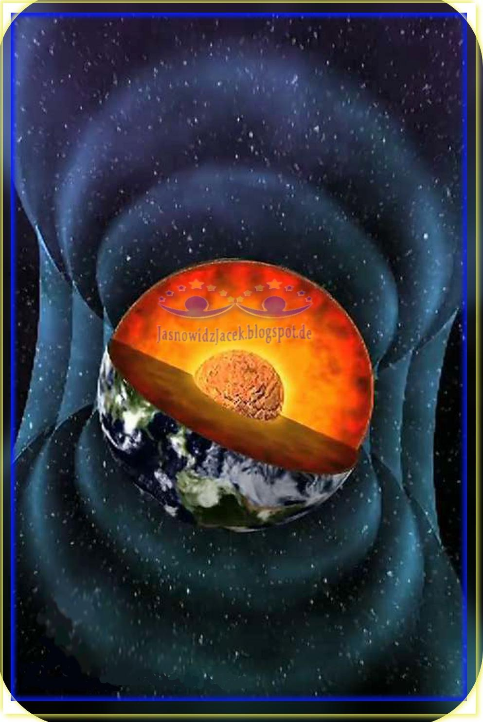 Jądro w Planecie Ziemi - Serce Ziemi