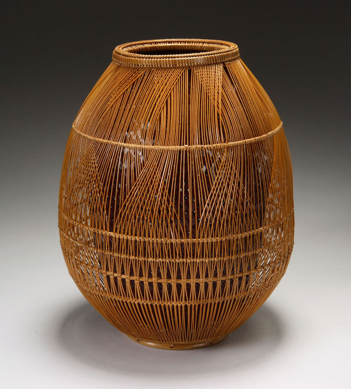 Contemporary basketry enclosures for Bamboo weaving tutorial