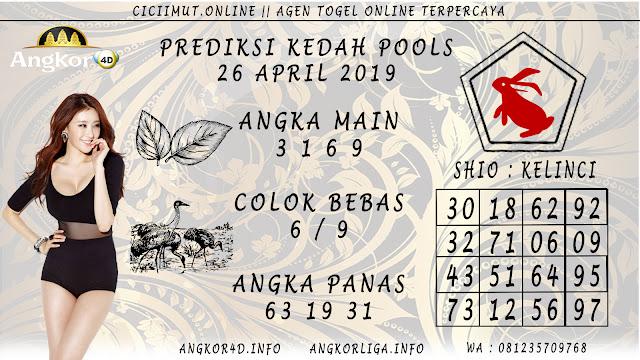 Prediksi Angka Jitu KEDAH POOLS 26 APRIL 2019