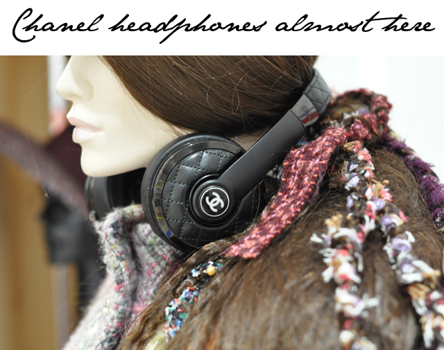 Chanel headphones