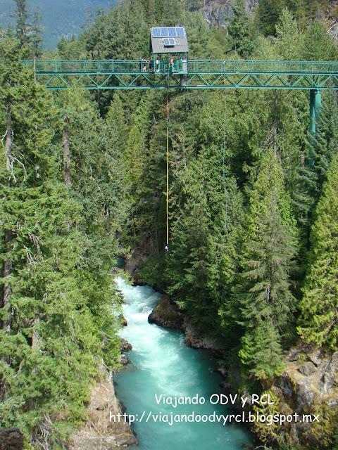 Bungee Bridge, Brandywine falls, Canada. Viajando ODV y RCL  http://viajandoodvyrcl.blogspot.mx
