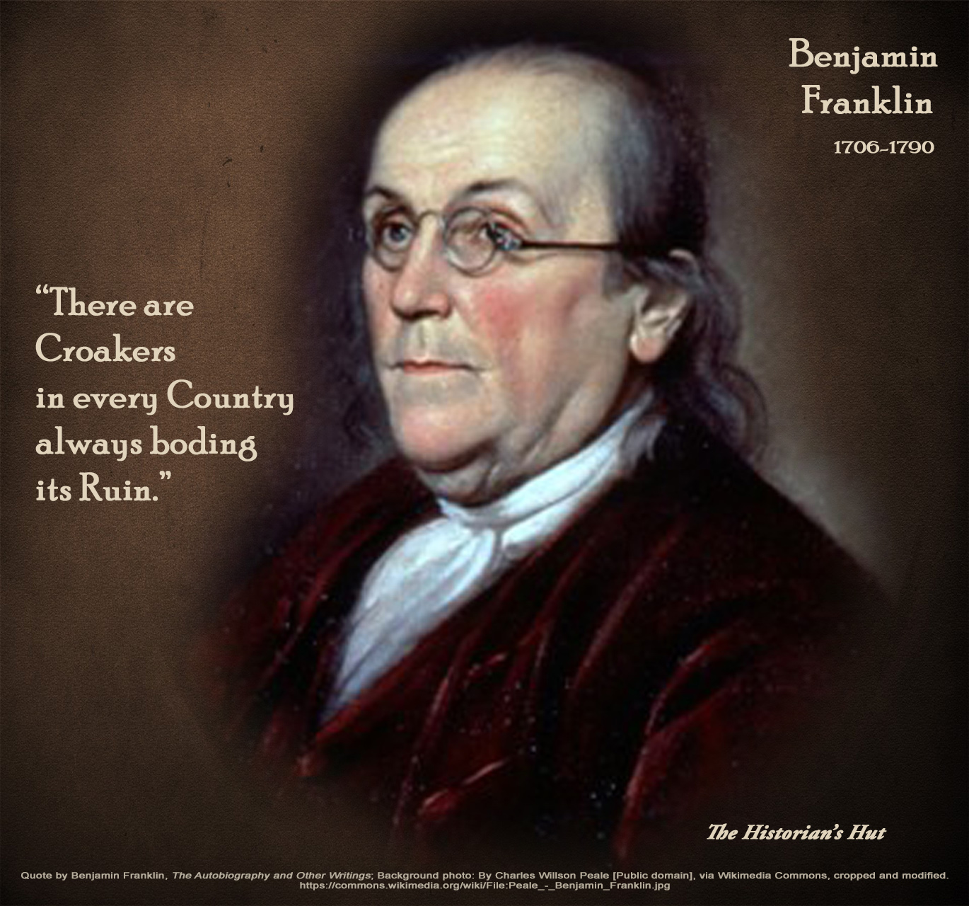 50 Great Benjamin Franklin Autobiography Quotes