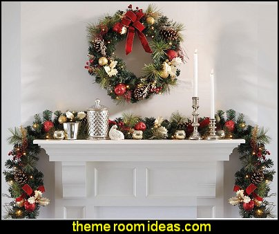 Christmas Garlands Christmas wreaths christmas decorating home decorations christmas