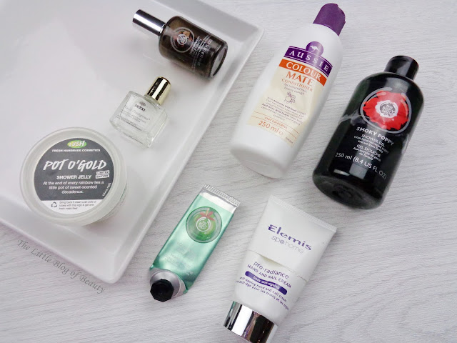 Product empties March 2016