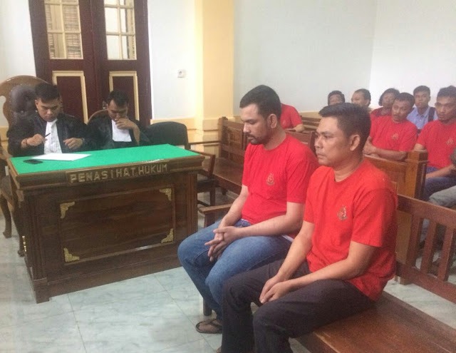 Hot News: Pengadilan Medan Menghukum 2 Penyelundup Obat Sampai Mati