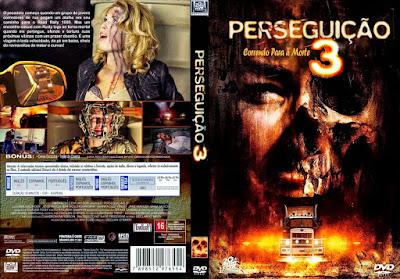 Filme Perseguição 3 Correndo Para a Morte DVD Capa