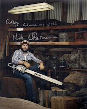 Nick Offerman, a.k.a. Ron Swanson, TTM 8x10 Personalized Auto