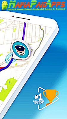 Waze - GPS, Maps, Traffic Alerts & Live Navigation Apk MafiaPaidApps