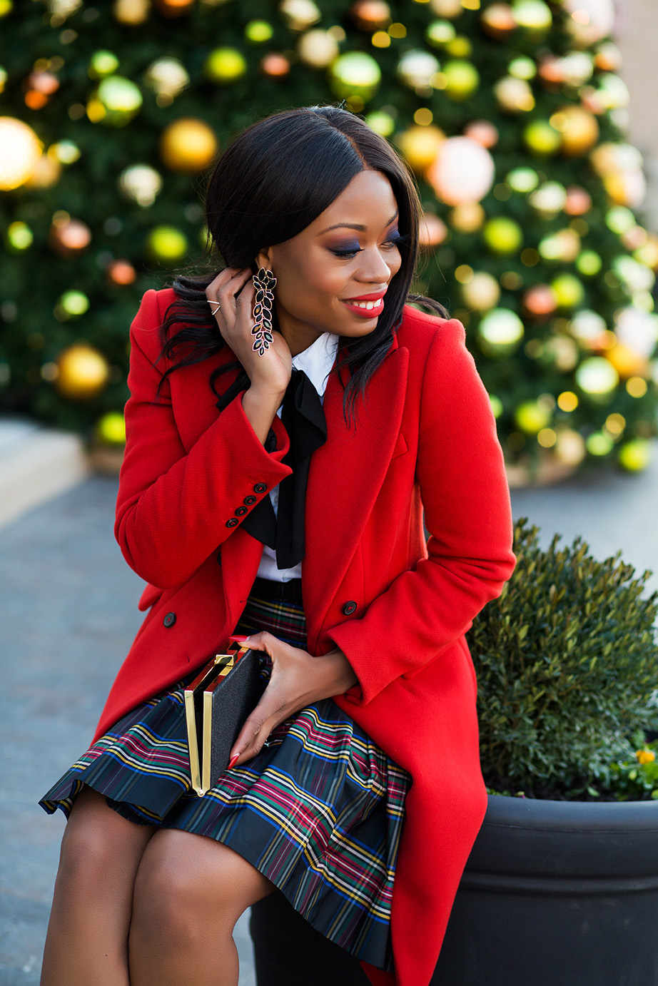 Holiday in plaid, www.jadore-fashion.com
