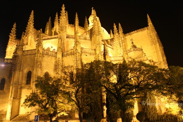 foto de la catedral de segovia
