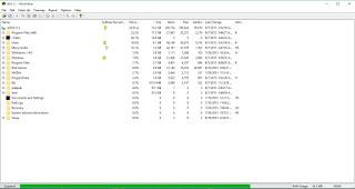 Menganalisis Disk space menggunakan WinDirStat