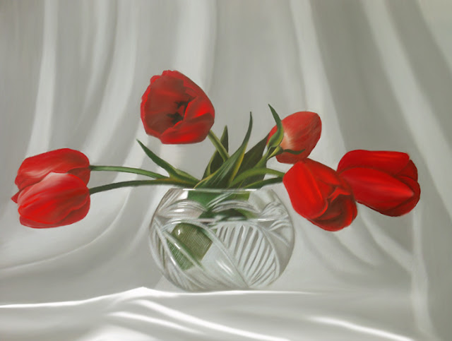 Red Dreams    rita Seifert    Dutch Surrealist painter   Tutt'Art@   ()