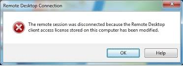 SQL, BI and stuff: Remote Session Was Disconnected Because Client