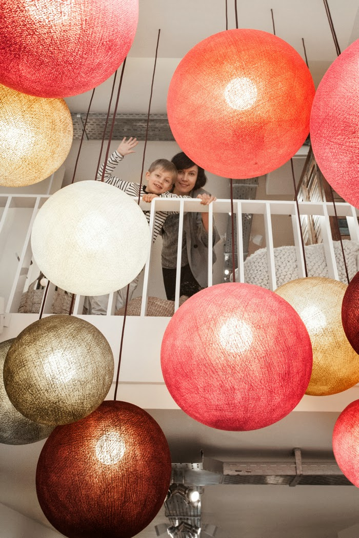 Happy Lights in Couleur Locale in Knokke