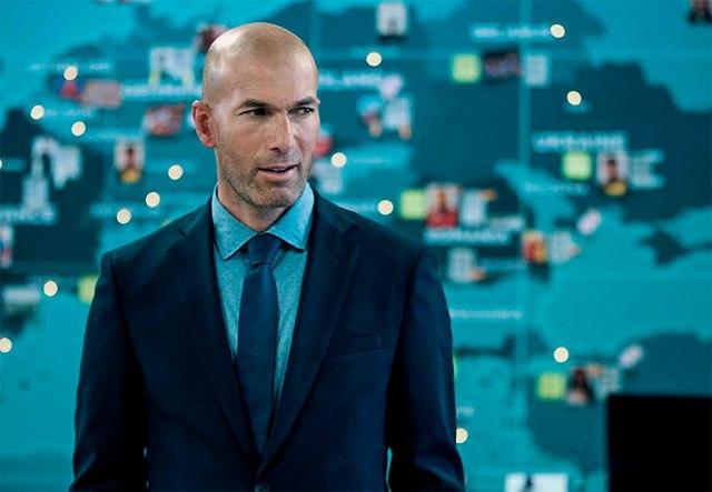 Orange convierte a Zidane en su estrella para la Euro