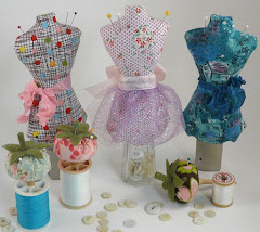 Mini mannequin pincushion pattern