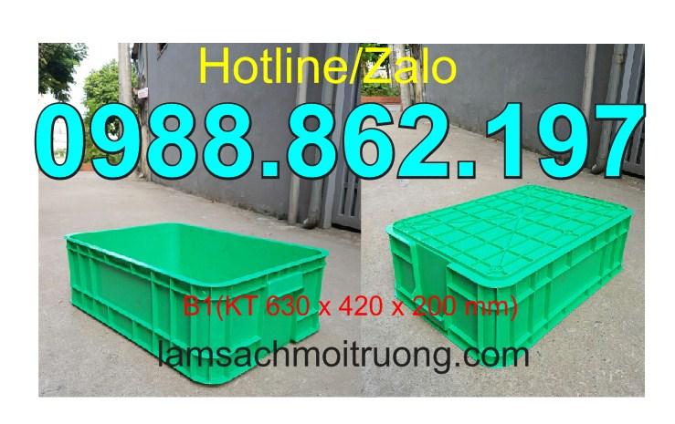 www.123nhanh.com: Thùng nhựa đặc b1, sóng nhựa bít, khay nhựa, thùng nhựa,