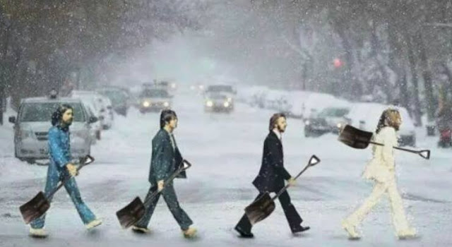 Beatles snow